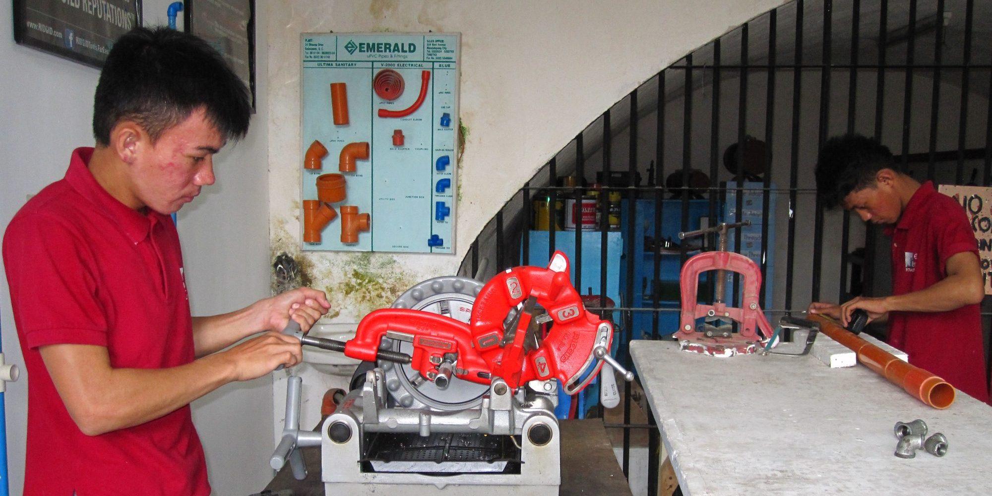 Workshop Plumbing 3