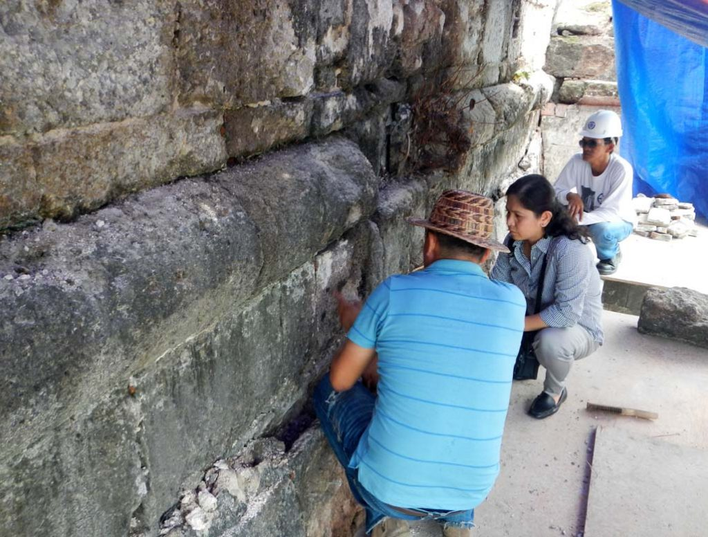 ETFFI team at Fort Santiago Walls Project in Intramuros.